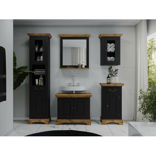 Perryville Bathroom Furniture Suite with Mirror August Grove
