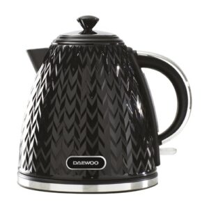 Pyramid 1.7L Electric Kettle Daewoo Colour: Black