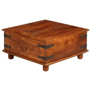Raiden Coffee Table with Storage Union Rustic