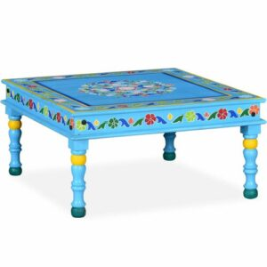 Ringgold Coffee Table Bloomsbury Market Colour: Turquoise