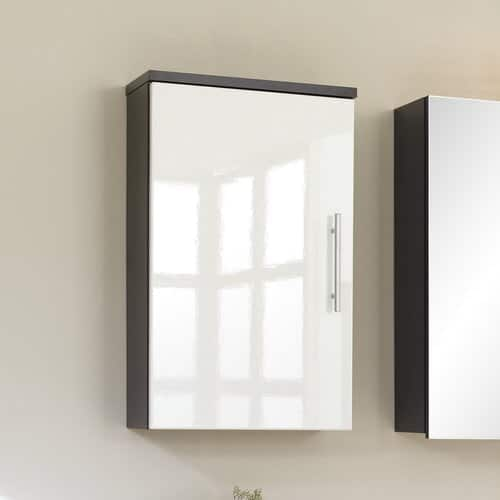 Salona 40 x 68cm Wall Mounted Cabinet Belfry Bathroom Finish: Anthracite / White