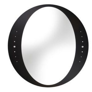 Shanta Mirror Belfry Bathroom Finish: Black