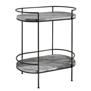 Side Table Nordal Colour: Black