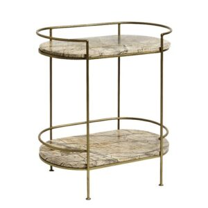 Side Table Nordal Colour: Gold