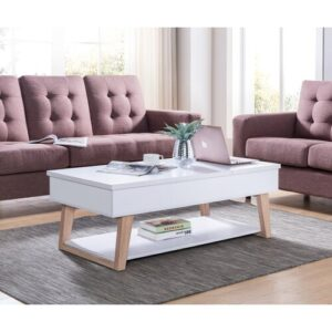 Skylark Lift Top Coffee Table Blue Elephant