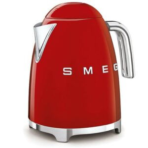 Smeg 1.7L Stainless Steel Electric Kettle Smeg Colour: Red