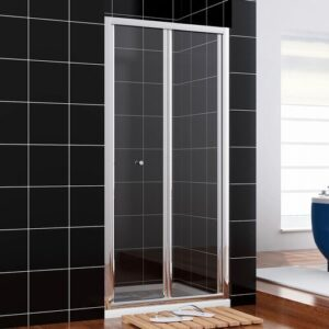 Spataro Glass Square Shower Enclosure with Tray Belfry Bathroom Size: 1850mm H x 760mm W x 760mm D