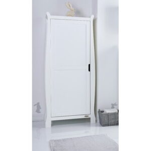 Stamford 1 Door Wardrobe Obaby Colour: White