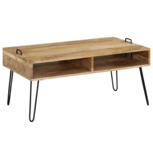 Stanberry Coffee Table with Storage Williston Forge