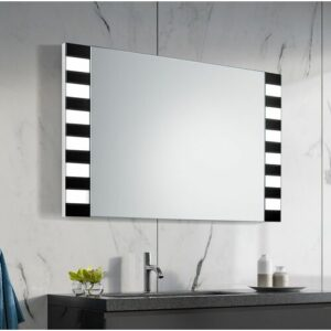 Stephan Bathroom Mirror Metro Lane Size: 60cm H x 80cm W x 3.2cm D