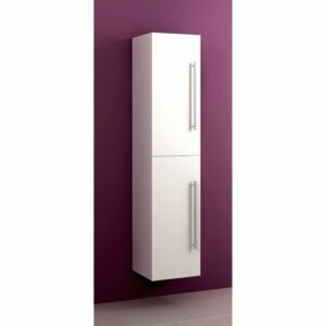 Stephen 35 x 160cm Wall Mounted Cabinet Belfry Bathroom Finish: White