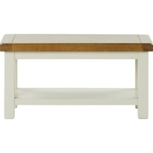 Stevie Coffee Table with Magazine Rack Brambly Cottage Size: 45cm x 90cm x 45cm