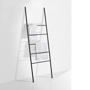 Theus Wall Mounted Towel Stand Belfry Bathroom Finish: Black Matte
