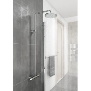 Trever Thermostatic Shower with Fixed Shower Head Belfry Bathroom