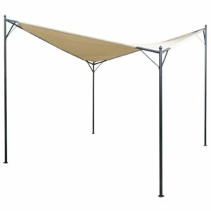 Vernice 3m x 3m Steel Patio Gazebo Sol 72 Outdoor