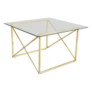 Viane Coffee Table Canora Grey Colour (Table Base): Brass