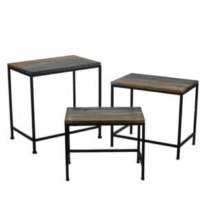 Werner 3 Piece Coffee Table Set August Grove
