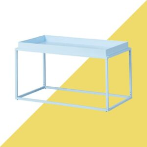 Zeus Coffee Table Hashtag Home Colour: Candy blue