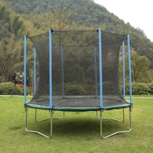 10' Garden Trampoline with Safety Enclosure Freeport Park