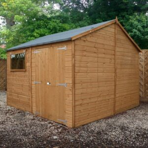 10 ft. x 10 ft. Solid Wood Garden Shed WFX Utility Installation Included: No