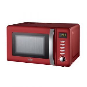 20L 800W Countertop Microwave Beko Colour: Red