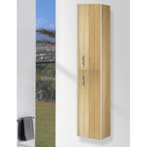 30 x 140cm Wall Mounted Cabinet Belfry Bathroom Finish: Nature
