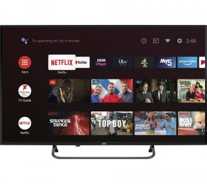 "40"" JVC LT-40CA790 Android TV Smart Full HD LED TV with Google Assistant"