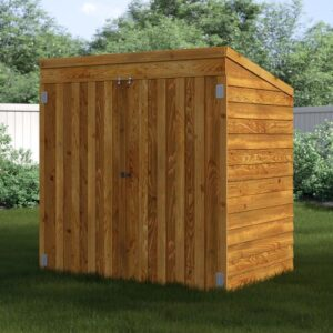 5 Ft. W x 3 Ft. D Solid Wood Garden Shed WFX Utility Installation Included: No