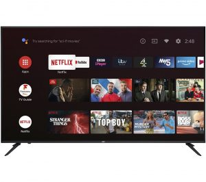 """55"""" JVC LT-65CA890 Android TV Smart 4K Ultra HD HDR LED TV with Google Assistant"""