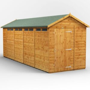 6 ft. W x 18 ft. D Solid Wood Garden Shed WFX Utility
