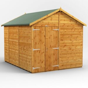 8 ft. W x 10 ft. D Solid Wood Garden Shed WFX Utility