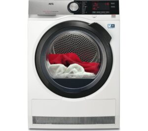 AEG Tumble Dryer AbsoluteCare T8DSC869C Heat Pump - White, White