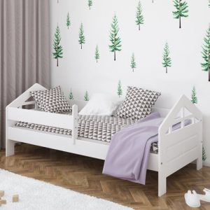 Ala Bed Isabelle & Max Colour (Bed Frame): White, Size: European Toddler (80 x 160 cm)