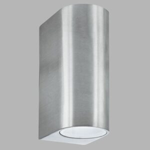 Amelia 2 Light Outdoor Sconce Sol 72 Outdoor Finish: Silver