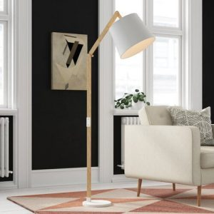 Apamea 163cm Reading Floor Lamp Mack + Milo