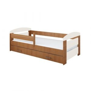 Archway Bed with Drawers Mack + Milo Bed Frame Colour: Alder, Lying surface: 80 x 180cm