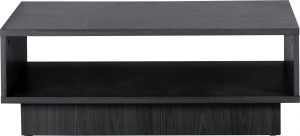 Argos Home Cubes 1 Shelf Coffee Table - Black