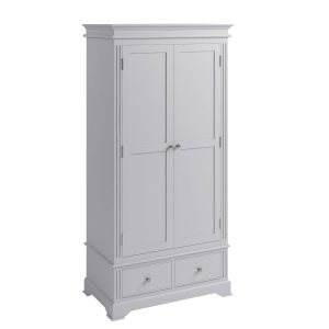 Aubrey Grey 2 Door Wardrobe