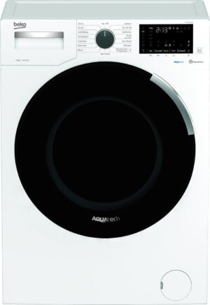 Beko AquaTech WEY94P64EW 9KG Spin Washing Machine - White