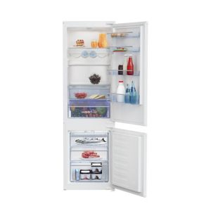 Beko ICQFVD373 70:30 White Integrated Fridge freezer