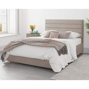 Blanche Upholstered Ottoman Bed Rosalind Wheeler Size: Double (4'6), Colour: Black