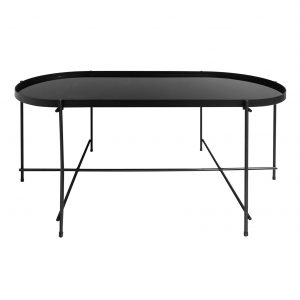 Boutique Oval Coffee Table - Black