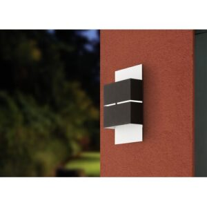 Candler 2 Light LED Outdoor Flush Mount Sol 72 Outdoor Fixture Finish: White / Anthracite