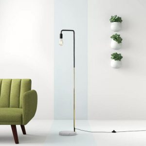 Catlett 153cm Arched Floor Lamp Hashtag Home