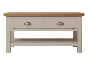 Cole Oak and Grey Large Coffee Table