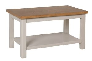 Cole Oak and Grey Small Coffee Table