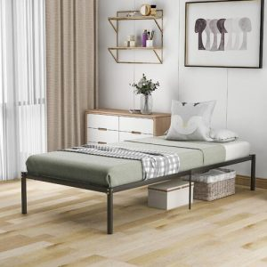 Coquitlam Bed Frame Symple Stuff Size: European Single (90 x 200cm)