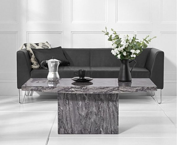 Crema Grey Marble Coffee Table