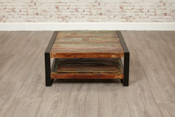 Downtown Modern Square Coffee Table