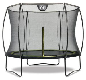 EXIT 10ft Black Edition Trampoline with Enclosure